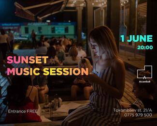 Sunset Music Session в «Асанбай» центре