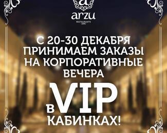 Новогодние вечера в Arzu