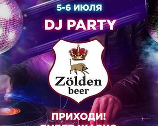 DJ PARTY в Zolden beer